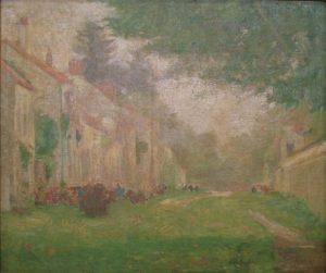 PAISAGEM DE SAINT HUBERT - OST - 46 x 55 cm - c.1915 - MUSEU DE ARTE DA PAMPULHA - BELO HORIZONTE/MG