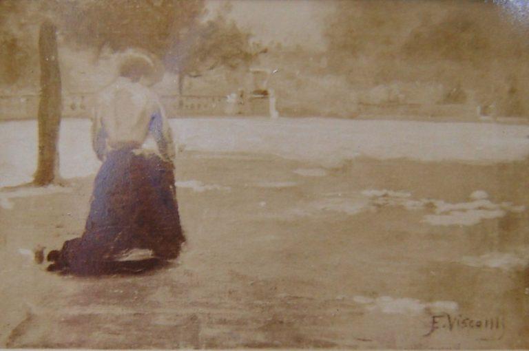PAISAGEM DE LUXEMBURGO - OST - 31 x 46 cm - c.1905 - LOCALIZAÇÃO DESCONHECIDA