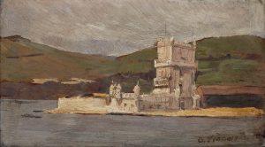 TORRE DE BELÉM - OSM - 12 x 21 cm - 1893 - COLEÇÃO PARTICULAR