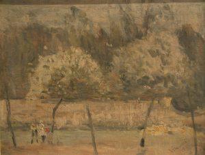 BOIS DE BOULOGNE - OSC - 23 x 29 cm - 1920 - COLEÇÃO PARTICULAR