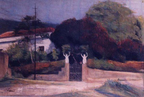 MINHA CASA EM COPACABANA - OST - 35 x 52 cm - c.1920 - COLEÇÃO PARTICULAR