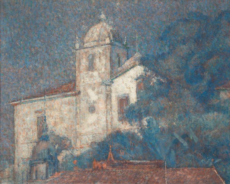 IGREJA DE SANTA TERESA - OST - 65 x 81 cm - c.1927 - MUSEU NACIONAL DE BELAS ARTES - MNBA - RIO DE JANEIRO/RJ