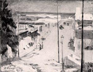 LADEIRA DO BARROSO (ATUAL LADEIRA DOS TABAJARAS) - OST - 32 x 42 cm - 1911 - LOCALIZAÇÃO DESCONHECIDA