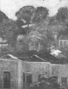 PAISAGEM - OST - 41,2 x 32,8 cm - c.1925 - LOCALIZAÇÃO DESCONHECIDA