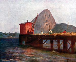PÃO DE AÇÚCAR - OST - 26,0 x 32,5 cm - 1901 - LOCALIZAÇÃO DESCONHECIDA
