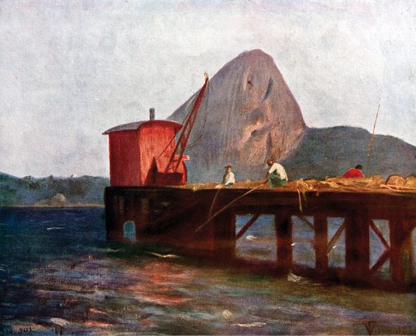 PÃO DE AÇÚCAR - OST - 26,0 x 32,5 cm - 1901 - COLEÇÃO PARTICULAR