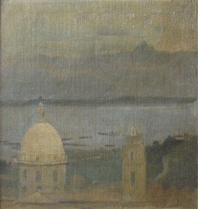 IGREJA DA CANDELÁRIA - OST - 27,5 x 25,5 cm - 1902 - MUSEU DE ARTE CONTEMPORÂNEA DE PERNAMBUCO/OLINDA/PE