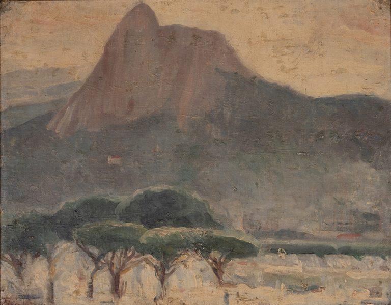 CORCOVADO - OST - 28 x 35 cm - c.1925 - COLEÇÃO PARTICULAR