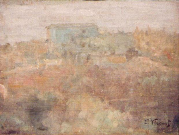 ALTO DO MORRO DE SANTO ANTONIO - OST - 26 x 35 cm - c.1925 - COLEÇÃO PARTICULAR