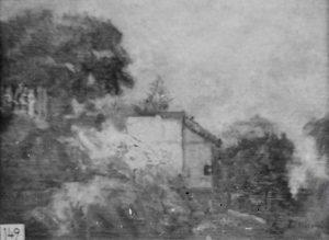 MORRO DE SANTO ANTONIO - OST - 27 x 34 cm - c.1925 - LOCALIZAÇÃO DESCONHECIDA