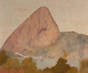 MARINA COM PÃO DE AÇÚCAR - OST - 64,5 x 80,0 cm - 1904 - COLEÇÃO PARTICULAR