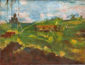 MORRO DE SANTO ANTONIO - OSM - 26 x 35 cm - c.1925 - COLEÇÃO PARTICULAR