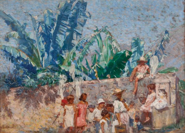 GAROTOS DA LADEIRA (LADEIRA DOS TABAJARAS) - OST - 57 x 81 cm - c.1928 - COLEÇÃO PARTICULAR
