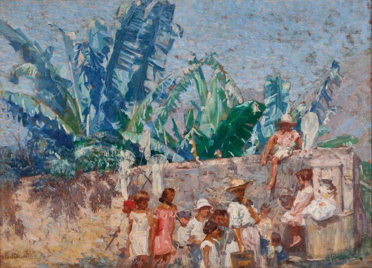 GAROTOS DA LADEIRA - OST - 57 x 81 cm - c.1928 - COLEÇÃO PARTICULAR