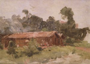 TAPERA VELHA - OSM - 24 x 35 cm - 1921 - COLEÇÃO PARTICULAR