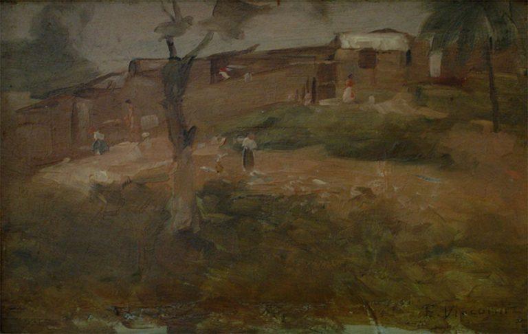 MORRO DO RIO - OSM - 13,5 x 21,8 cm - c.1921 - COLEÇÃO PARTICULAR