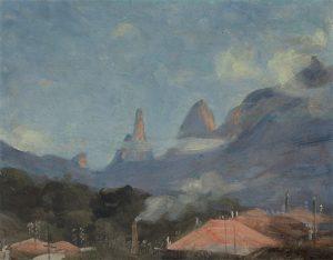 DEDO DE DEUS - OSM - 28 x 35 cm - c.1935 - COLEÇÃO PARTICULAR