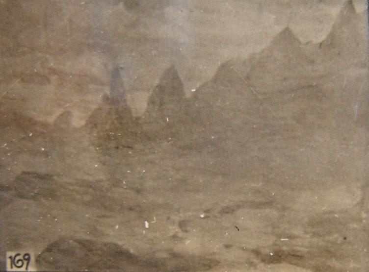 DEDO DE DEUS - TERESÓPOLIS - OSM - 27 x 33 cm - c.1929 - LOCALIZAÇÃO DESCONHECIDA
