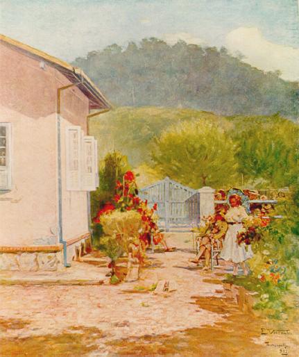 MINHA CASA EM TERESÓPOLIS - OSM - 35 x 26 cm - 1932 - COLEÇÃO PARTICULAR