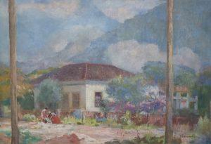 SOLAR EM TERESÓPOLIS - OST - 49,5 x 68,0 cm - c.1935 - COLEÇÃO PARTICULAR