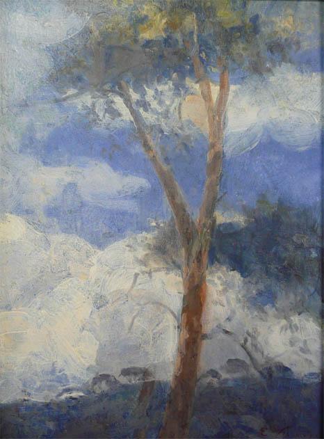 CÉU DE TERESÓPOLIS - OSM - 35,0 x 26,5 cm - c.1930 - COLEÇÃO PARTICULAR