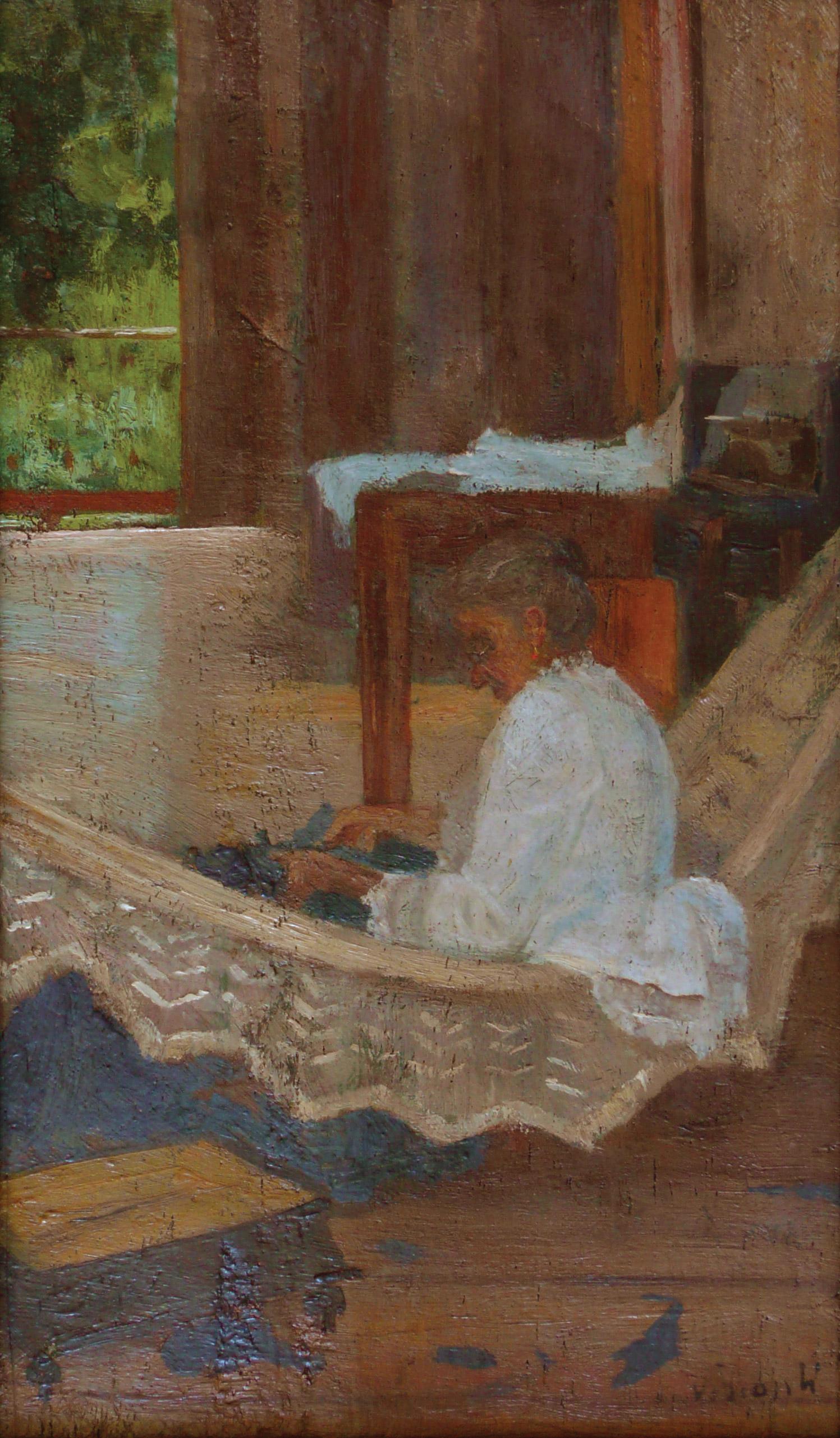 BARONESA DE GUARAREMA - OSM - 20 x 13 cm - 1892 - COLEÇÃO PARTICULAR