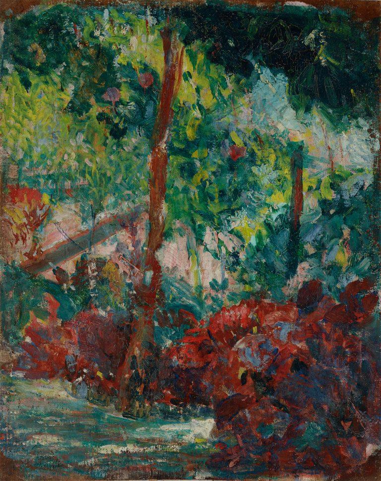 O JARDIM - OST - 35,0 x 28,0 cm - c.1928 - COLEÇÃO PARTICULAR