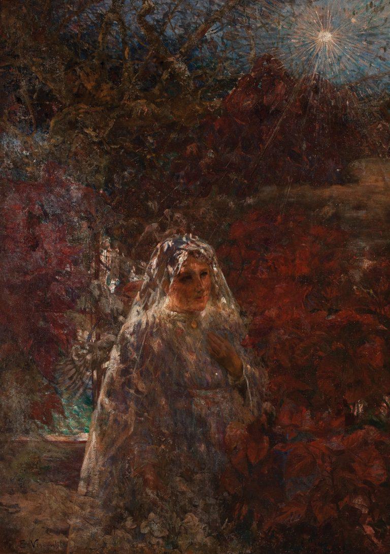PRIMEIRA COMUNHÃO - OST - 141 x 100 cm - c.1911 - COLEÇÃO PARTICULAR
