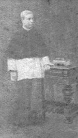 RETRATO DE UM CLÉRIGO - OST - c.1906 - LOCALIZAÇÃO DESCONHECIDA