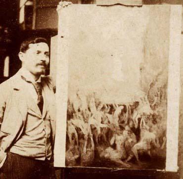 SAÍDA DA VIDA PECAMINOSA - ESTUDO - OST - c.1895 - LOCALIZAÇÃO DESCONHECIDA