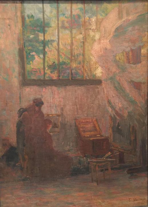 VITÓRIA DE SAMOTRÁCIA - ESTUDO - OST - 61 x 44 cm - c.1919 - COLEÇÃO PARTICULAR