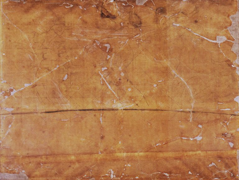 A MÚSICA - ESTUDO PARA O PAINEL CENTRAL DO FOYER DO THEATRO MUNICIPAL DO RIO DE JANEIRO – CRAYON E GIZ/PAPEL - 115,5 x 151,5 cm - 1913 - CENTRO DE DOCUMENTAÇÃO DA FUNDAÇÃO TEATRO MUNICIPAL DO RIO DE JANEIRO