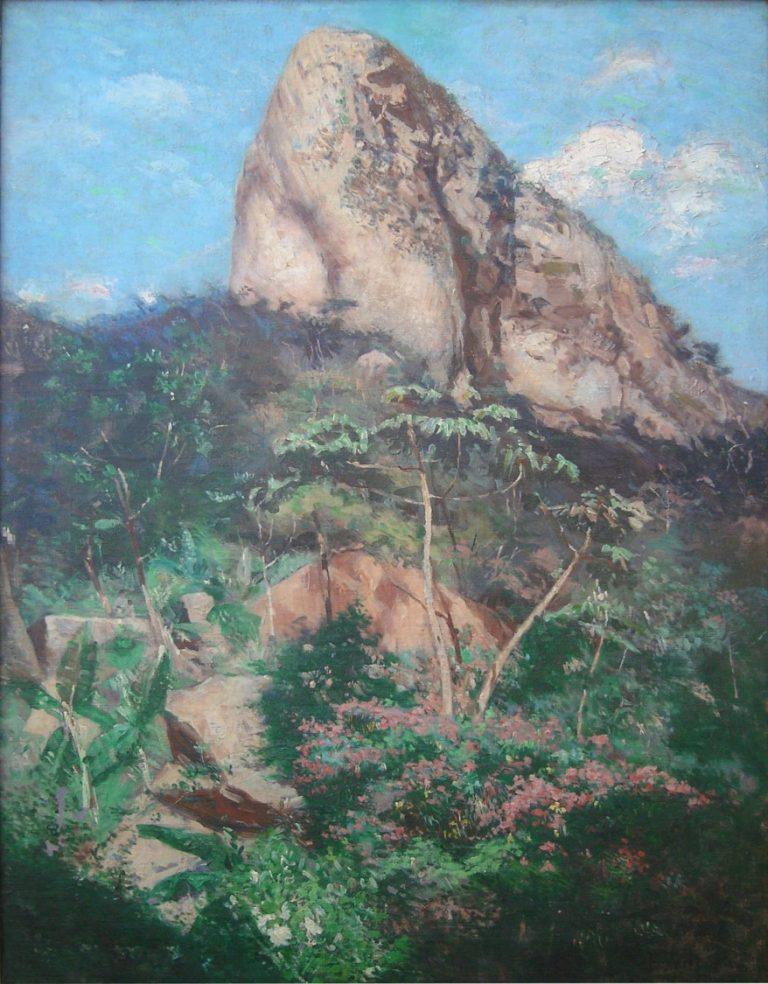 AGULHINHA DE COPACABANA - OST - 81,3 x 59,0 cm - c.1911 - MUSEU CARLOS COSTA PINTO - SALVADOR/BA