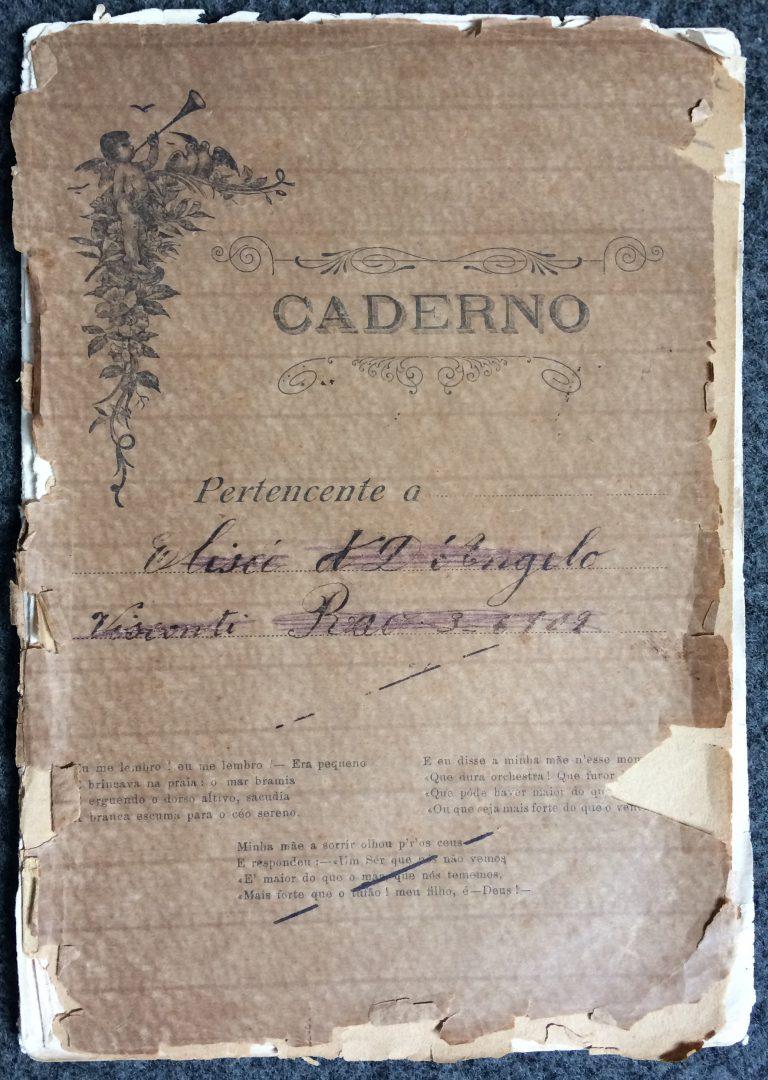 CAPA DO CADERNO CD011