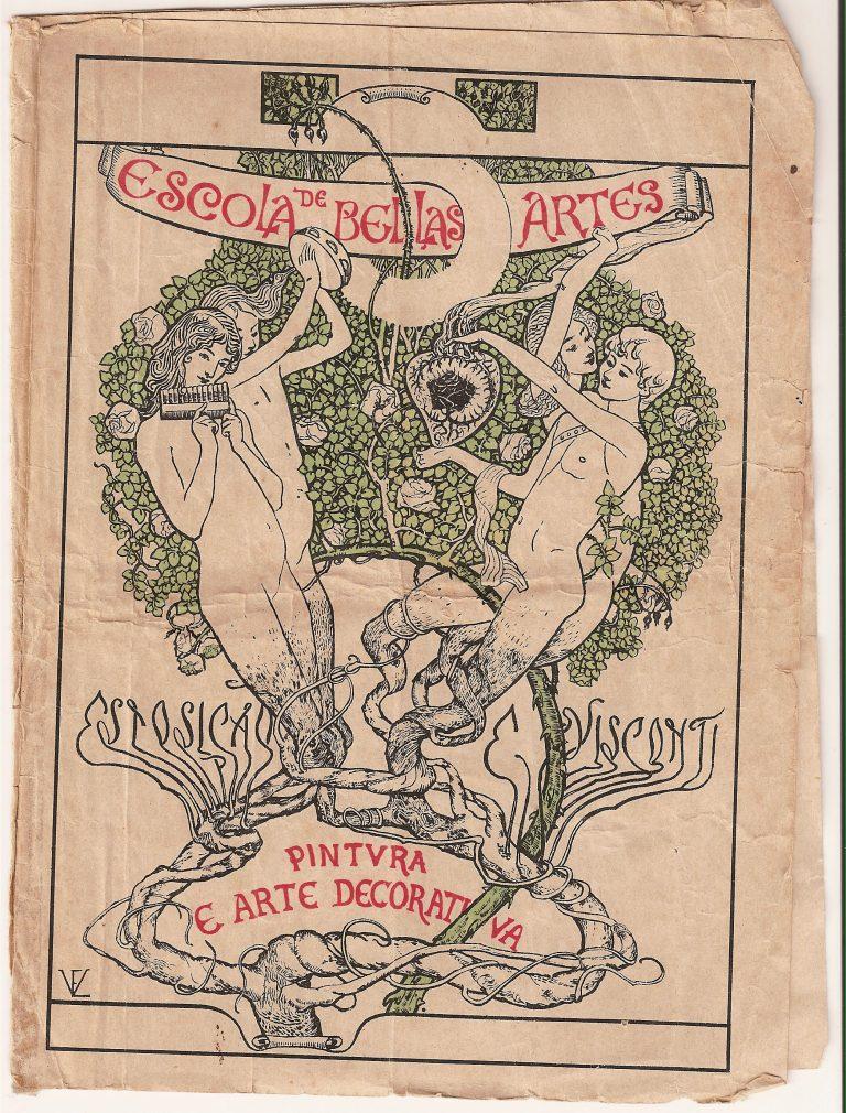 CAPA DO CATÁLOGO DA EXPOSIÇÃO DE 1901
