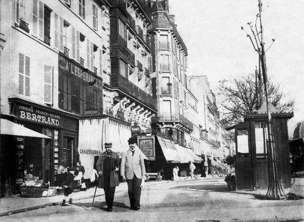 VISCONTI COM FÉLIX BERNARDELLI EM PARIS - 1893