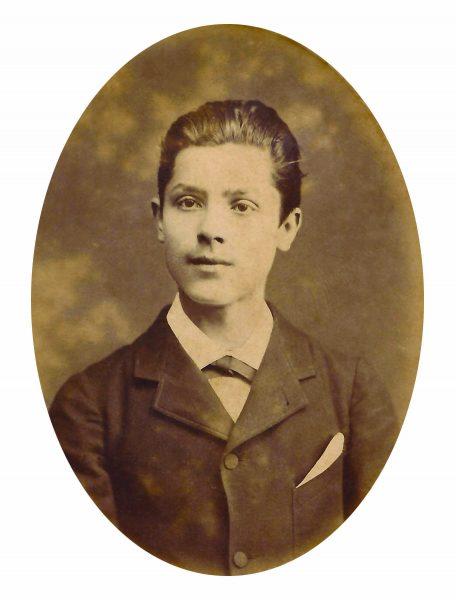 VISCONTI EM 1882, COM 15 ANOS