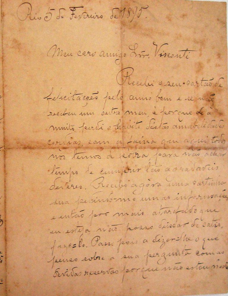 AMOEDO 5 DE FEVEREIRO DE 1895 - PAGINA 1