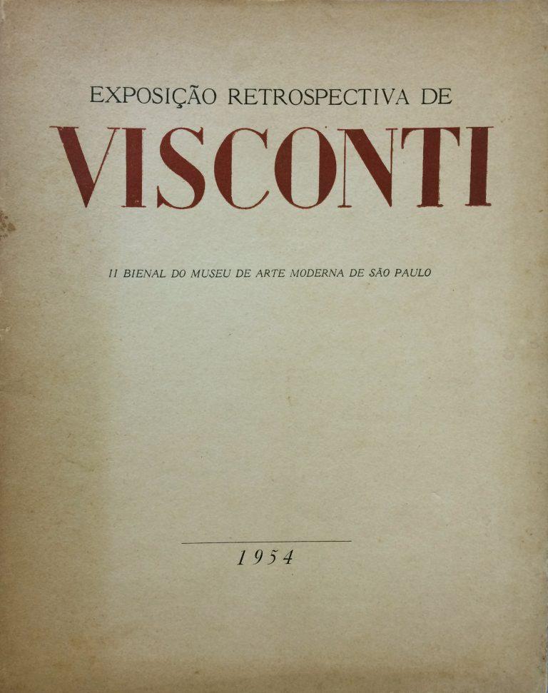 CATÁLOGO DA EXPOSIÇÃO DE 1954