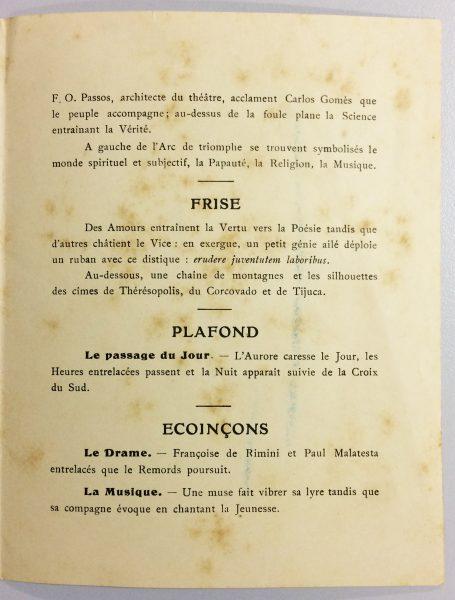 CATÁLOGO PARA A EXPOSIÇÃO DE 1907 EM PARIS – PÁGINA 2