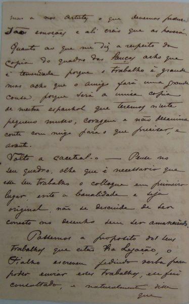 CARTA DE RODOLFO BERNARDELLI EM 08-08-1895 - PAG 2