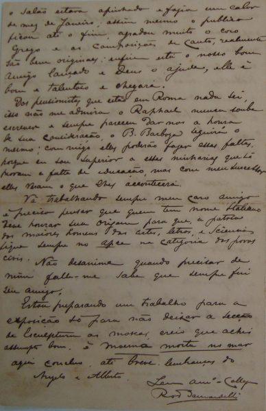 CARTA DE RODOLFO BERNARDELLI EM 08-08-1895 – PAG 4
