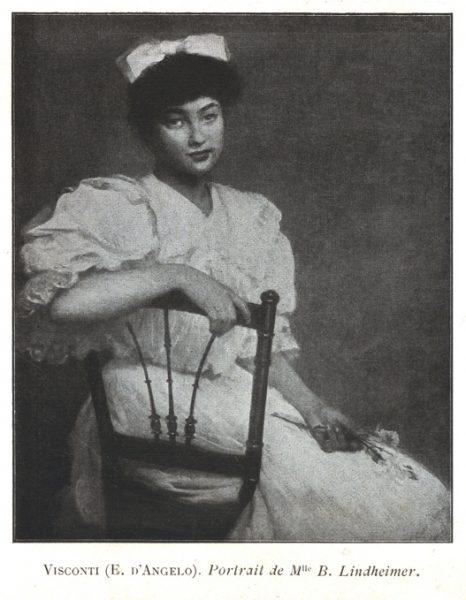 Retrato de Mlle. B. Lindheimer