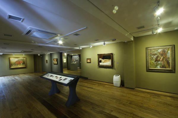 Exposição Eliseu Visconti 150 anos, na Galeria Almeida e Dale - 2016
