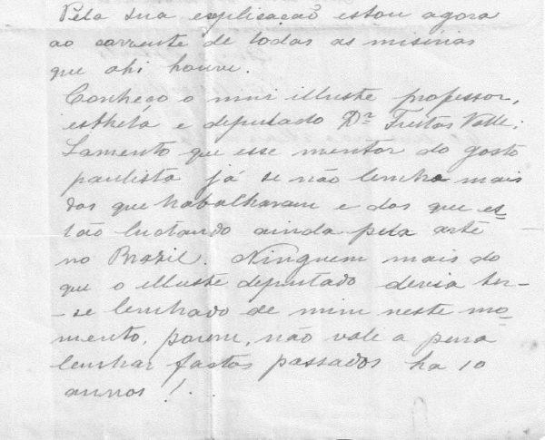 CARTA DE ELISEU VISCONTI A AMADEU AMAPRAL - PAG. 2