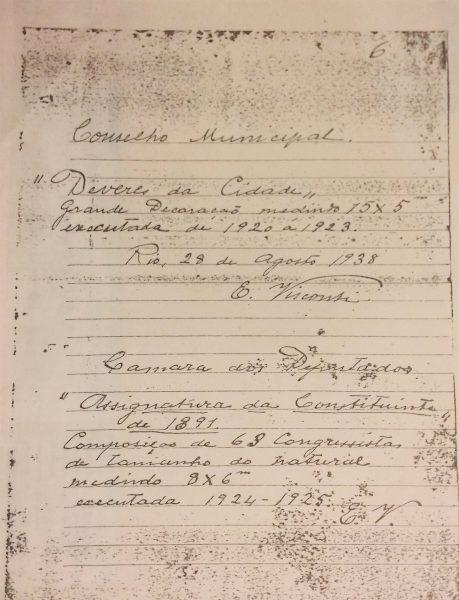 CARTA DE VISCONTI A OSWALDO TEIXEIRA - 1938 - PÁG. 6