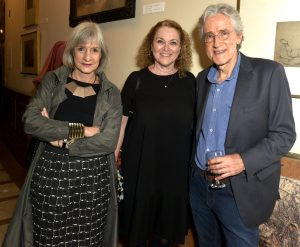 Christina Penna, Patricia Salles e Tobias Visconti