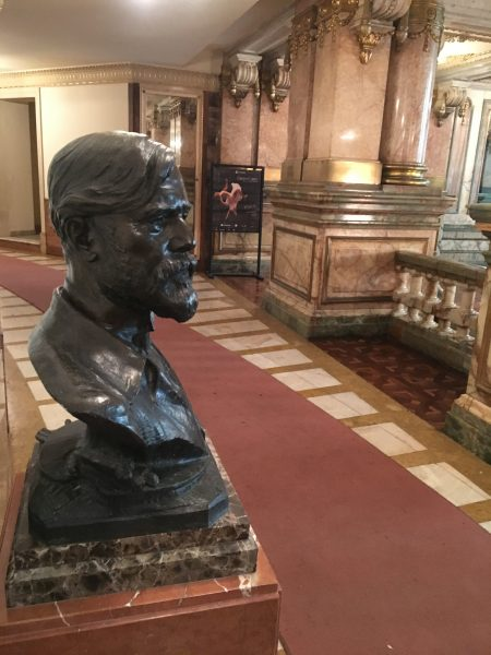 Reinaugurado busto de Eliseu Visconti no Theatro Municipal do Rio - 2018