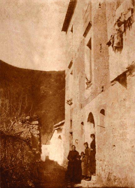 Casa onde nasceu Eliseu Visconti - Foto de 1907