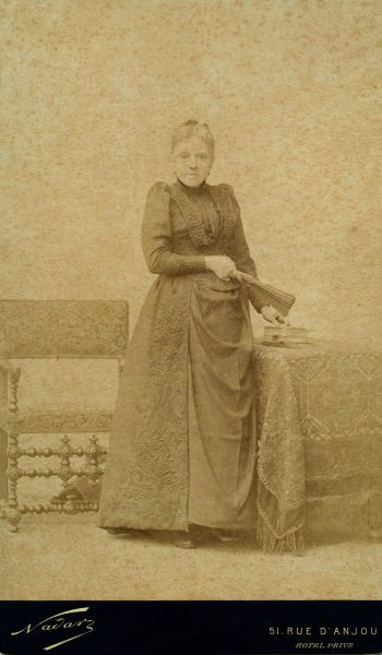 D. Francisca de Souza Monteiro de Barros, a baronesa de Guararema